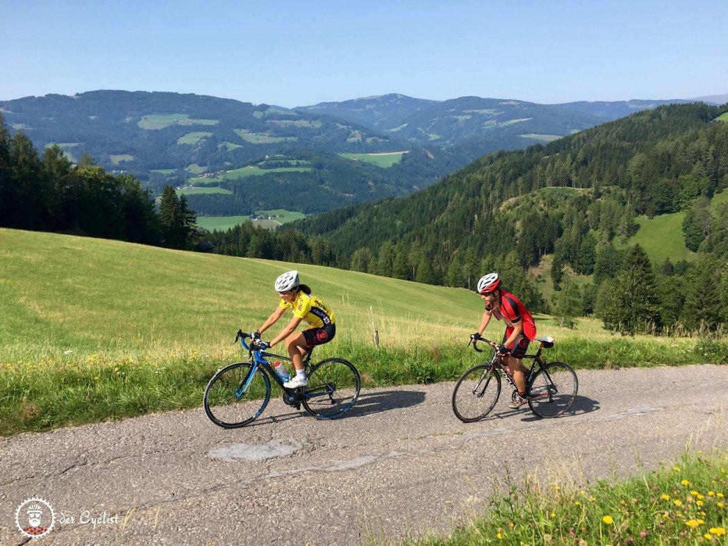 Rennrad, Österreich, Kärnten, Lavanttal, Pack, Wolfsberg, Bad St. Leonhard