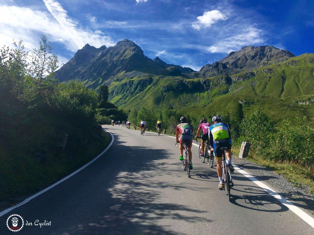 Rennrad, Österreich, Tirol, Vorarlberg, Arlberg, Silvretta, St. Anton, Bludenz, Landeck