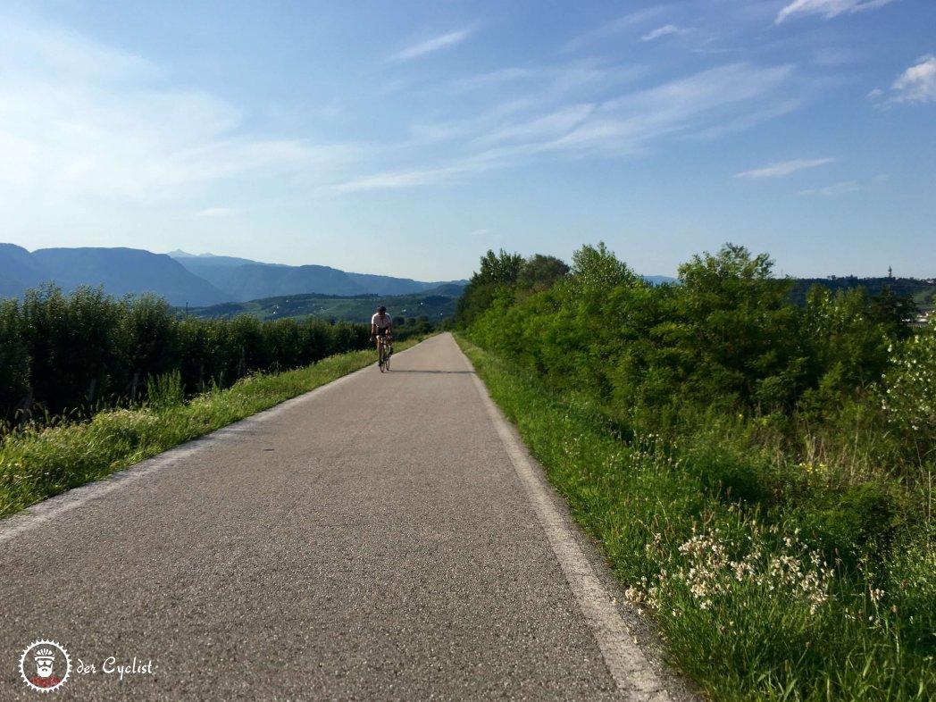 Rennrad, Italien, Südtirol, Bozen, Meran, Sarntaler Alpen, Salten