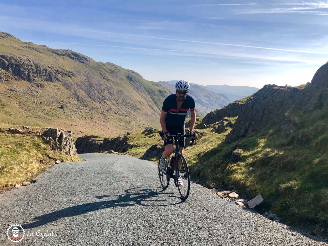 Rennrad, England, Lake District, Wrynose, Hardknott, Coniston, Windermere, Eskdale