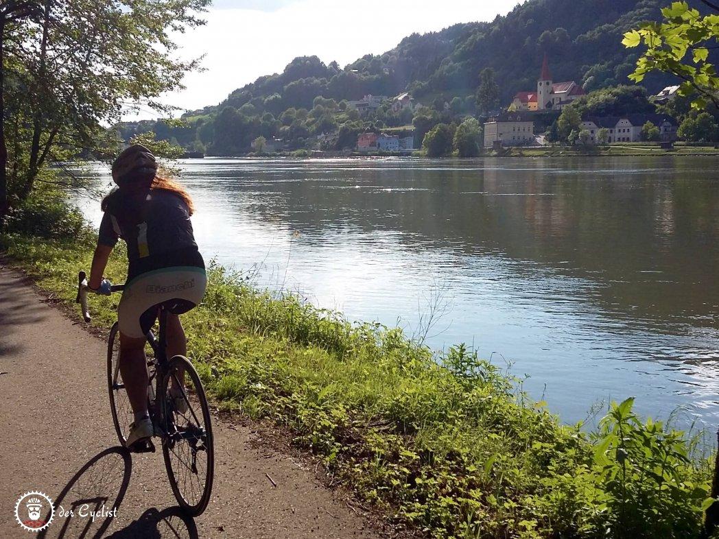 Rennrad, Österreich, Niederösterreich, Donau, Strudengau, Mostviertel, Ybbs an der Donau