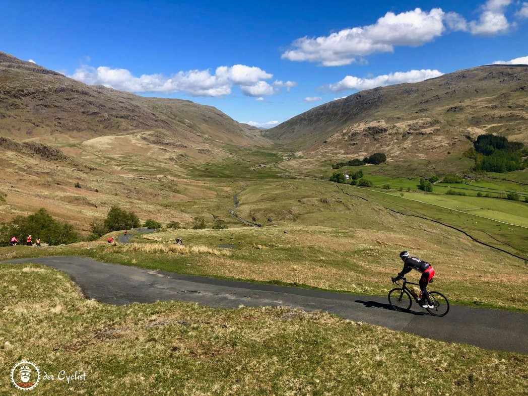 Rennrad, England, Lake District, Fred Whitton Challenge, Kirkstone, Windermere, Hardknott, Wrynose, Honister, Grasmere