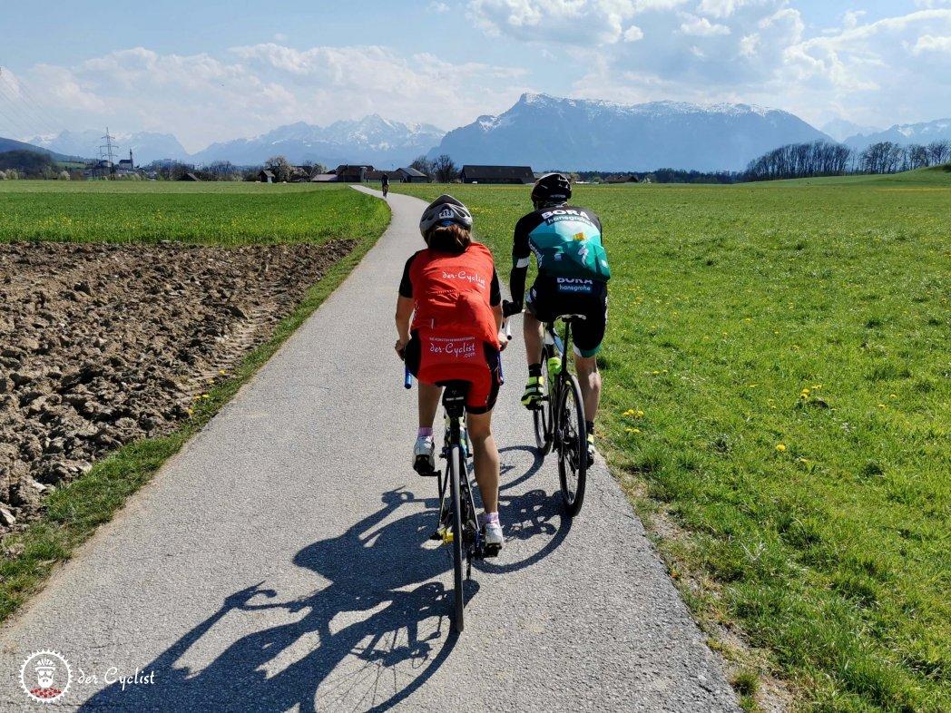 Rennrad, Salzburg, Oberösterreich, Flachgau, Innviertel