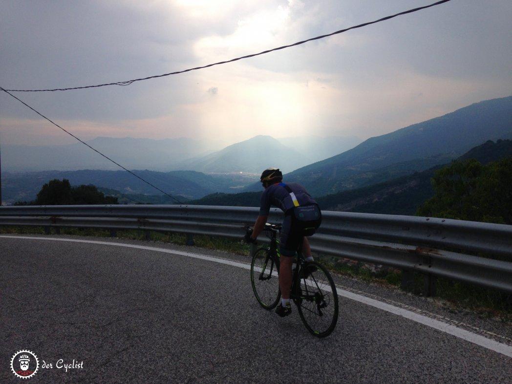 Rennrad, Italien, Veneto, Bassano, Monte Grappa