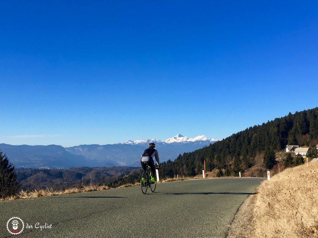 Rennrad, Slowenien, Krajn, Ljubljana, Julische Alpen