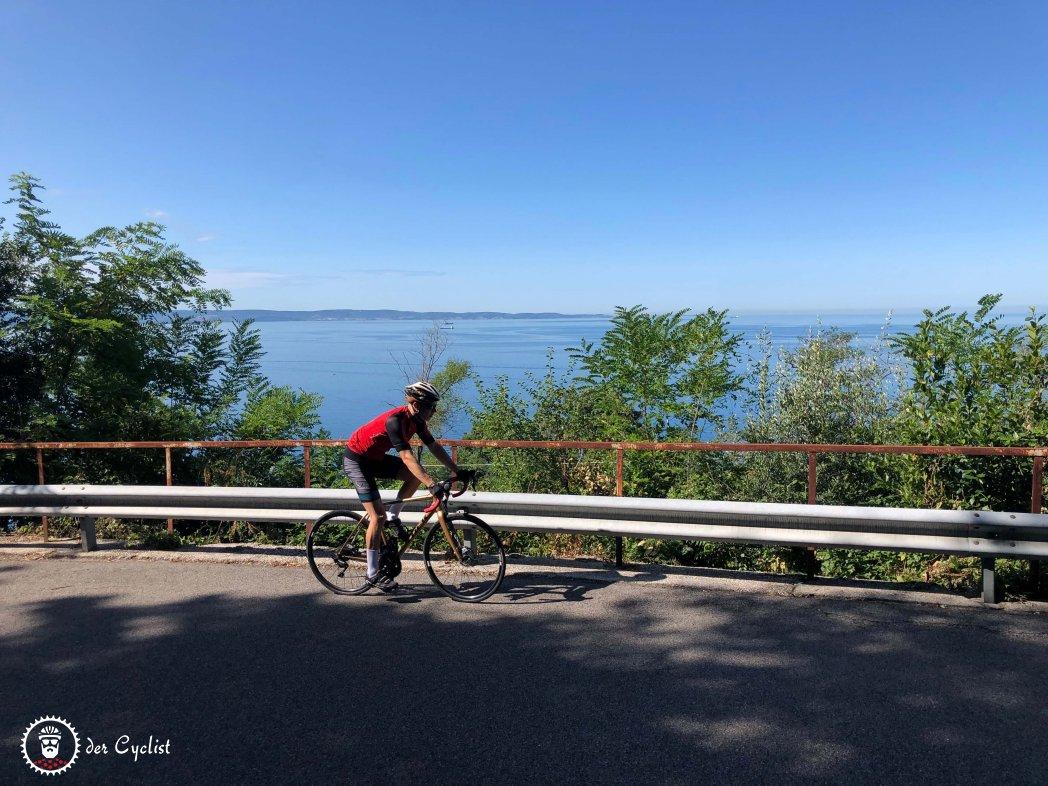 Rennrad - Italien - Friaul - Julisch Venetien - Triest - Karst - Adria
