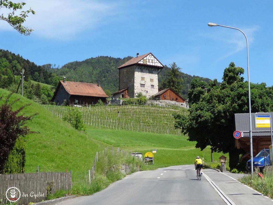 Rennrad, Schweiz, St. Gallen, Appenzell, Vorarlberg, Ebnit, Rheintal