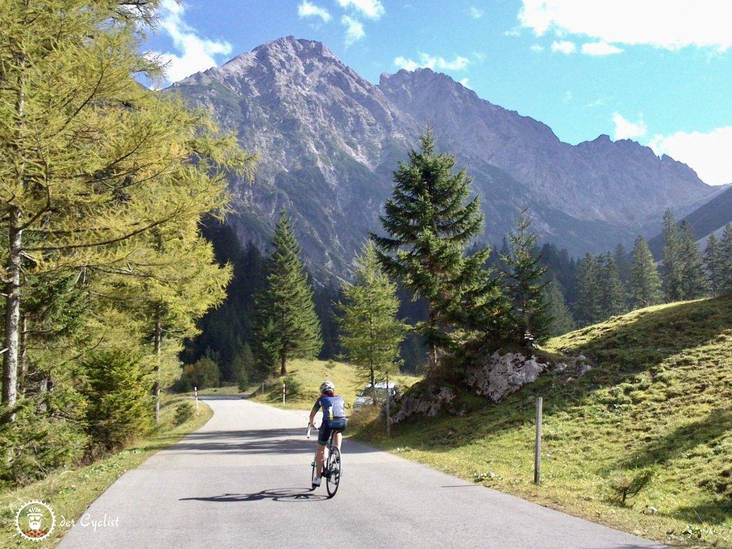 Rennrad, Vorarlberg, Brandnertal, Walgau, Bludenz, Rätikon