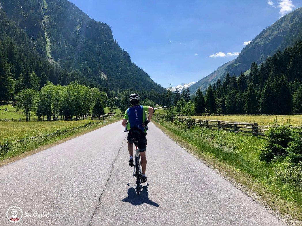 Rennrad, Tirol, Oberland, Kaunertal, Oberinntal