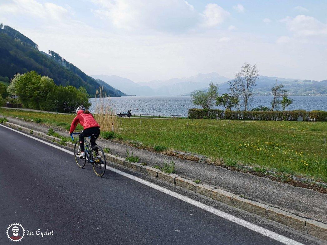 Rennrad, Oberösterreich, Salzburg, Salzkammergut, Attersee, King of the lake
