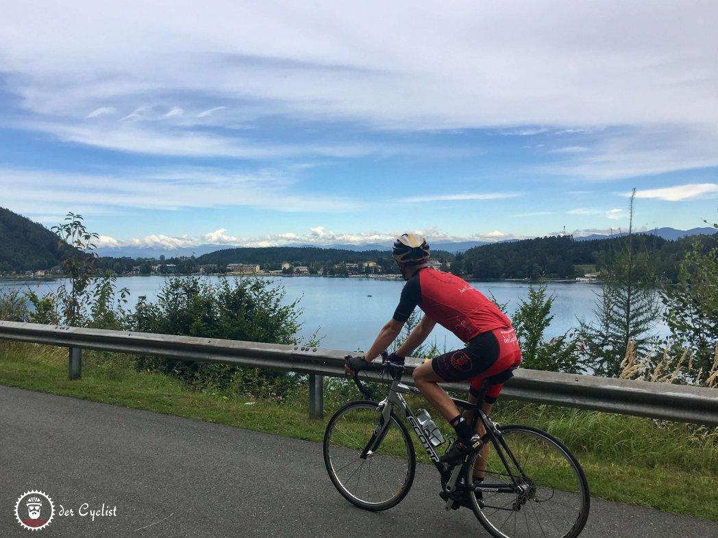 Rennrad, Kärnten, Unterkärnten, Jauntal, Klonieren See, Völkermarkt