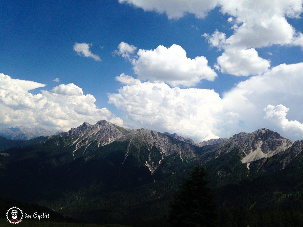 Rennrad, Italie, Südtirol, Dolomiten, Bruneck, Badia, Kronplatz