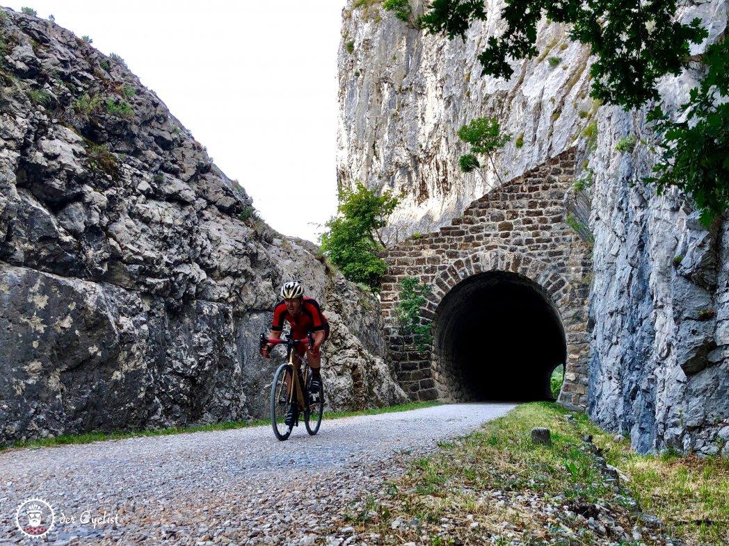 Rennrad - Gravel - Italien - Triest - Friaul- Julisch-Venetien - Karst - Rosandra - Slowenien - Bahntrasse