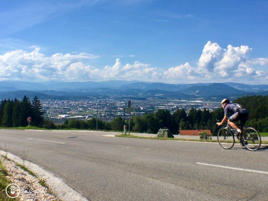 Rennradtour, Kärnten, Rosental, Klagenfurt, Karawanken