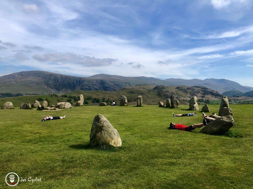 Rennrad, England, Lake District, Kirkstone, Windermere, Castlerigg Stone Circle