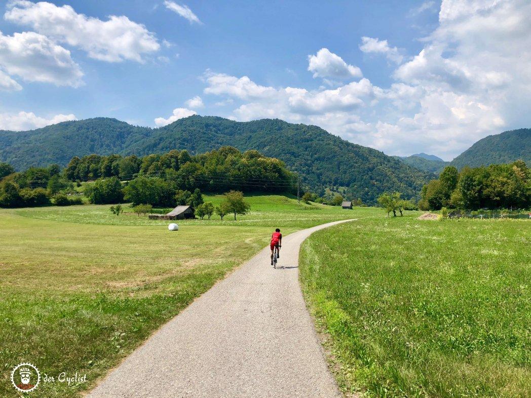 Rennrad, Slowenien, Julische Alpen, Soca, Bovec, Kranjska Gora, Bled