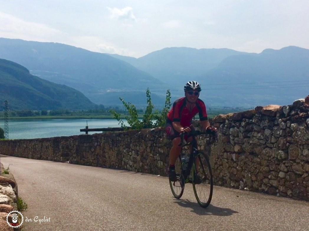 Rennrad, Italien, Südtirol, Bozen, Weinstraße, Kälterer See, Etschtal-Radweg