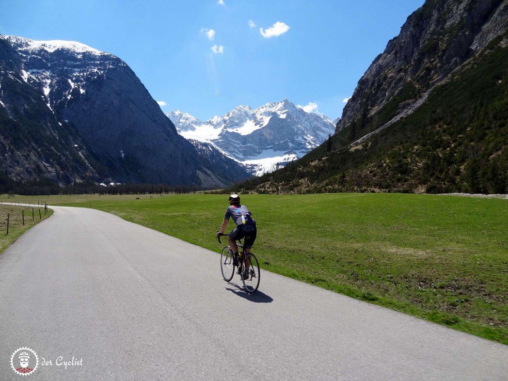 Rennrad, Bayern, Tirol, Kartenden, Ahornboden, Isar, Rißtal, Hinterriß, Lenggries